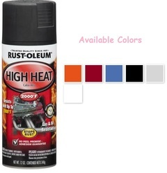 Rust Oleum Automotive High Heat Spray Paint