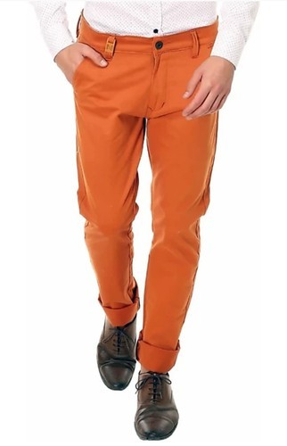 29d6db14 Nimegh Royal Orange Color Cotton Trouser For Men's, Rs 549 /piece ...