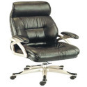 Executive Black Leather Chair