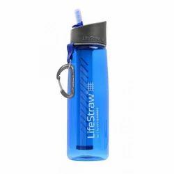 Lifestraw Go Personal Water Purifier Water Bottle-Blue (Size