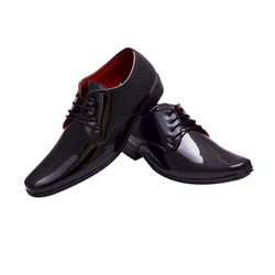 Men Black Formal Shoes, Size: 6 to 10