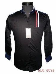 Black Clubwear/Party Wear Shirts
