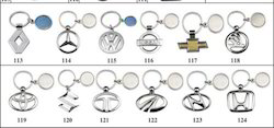 Multicolor Keychains Car Key Chains, Size: Standard