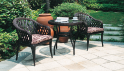 Ivory Style 2 Outdoor Wicker Coffee Set