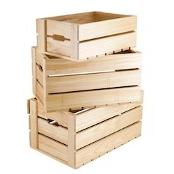 Wood Rectangle Wooden Boxes For Transportation