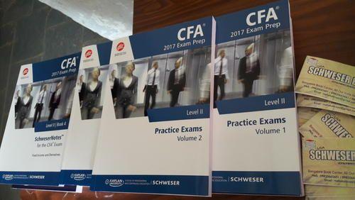 Cfa study material schweser