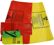 Blue Biomedical Waste Bags, for Garbage Bags, Size: Small