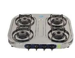 Glen GL-1044 SSAL Stainless Steel Cooktop