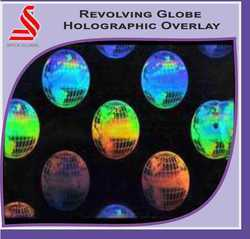 Revolving Globe Holographic Overlay