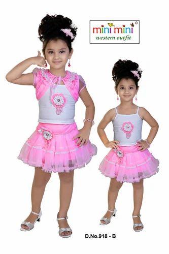 b4cc2d2767 Designer Kids Skirt Top, किड्स स्कर्ट टॉप - Kids Mini ...
