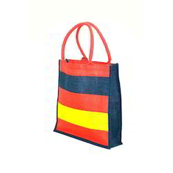 Colourful Jute Beach Bag