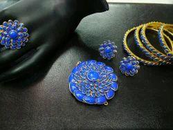 Blue Pacchi Combo Set