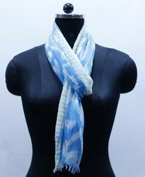 EGSC00013 Ikat Cotton Printed Scarf