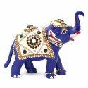 Meena Kundan Jewelry Work Elephant MT100