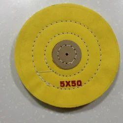 Yellow Treated Cloth Buff 5 x 50