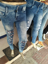 Blue Womens Denim Jeans