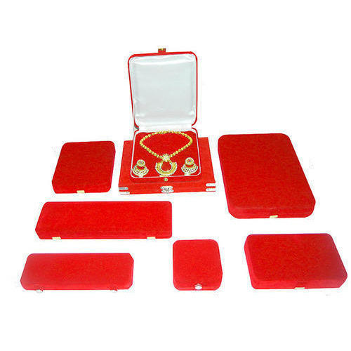 Red Velvet Jewellery Boxes Gifts Crafts Artifacts Packbee in