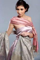 Ladies Elegant Evening Pure Silk Paisley Scarves