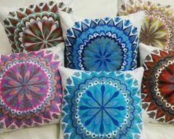 Suzani Embroidery Cushion Cover