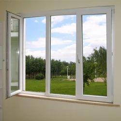 French UPVC Glass Window