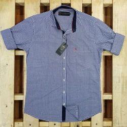 AL KONING M L XL Check Shirts