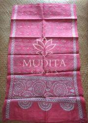 Kantha Embroidered Silk Stole