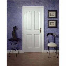 White Panel Masonite Door