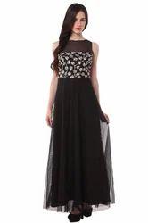 Black  Ladies Gown