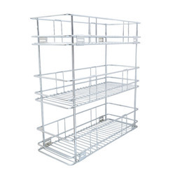 Three Shelf Pullout Basket