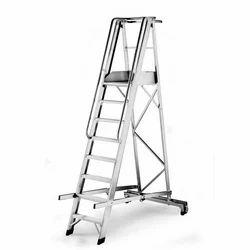 Folding Platform Ladder