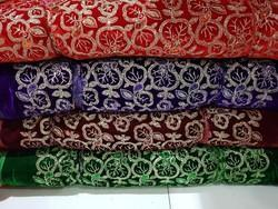 Colorful Embroidery Pattern Fabrics