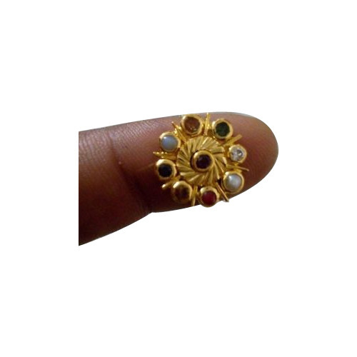 Designer Navaratna Ring Costume & Fashion Jewelry