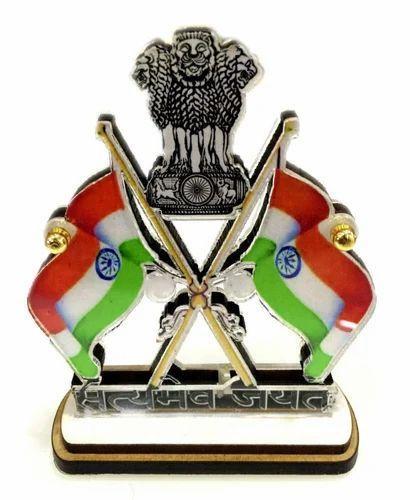 Indo Pride Car Dashboard Flag At Rs 150 Piece Car Flag Id