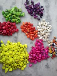 Color Polished Pebbles