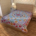 Twin Suzani Cotton Bed Covers