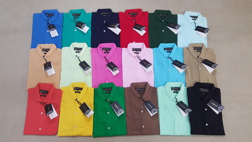 84dc4088f Branded Shirts - Men's Cotton Plain Shirts Manufacturer from Ahmedabad