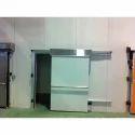 Manual Steel Sliding Door