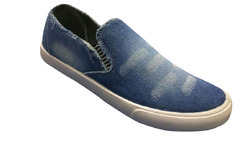 Smart Feet Blue Canvas Casual Shoes