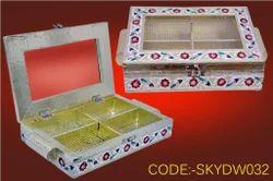 Wooden Chocolate Cum Dry Fruit Box
