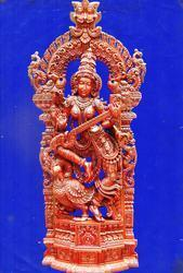 6 Feet Saraswati Statue Sp With Annam