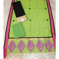 Nihira Designs Designer Cotton Dress Material, For Personal