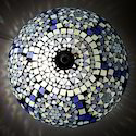 Blue Decorative Ceiling Light