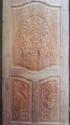 Wooden Dining Door