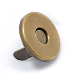 Brass Magnetic Button