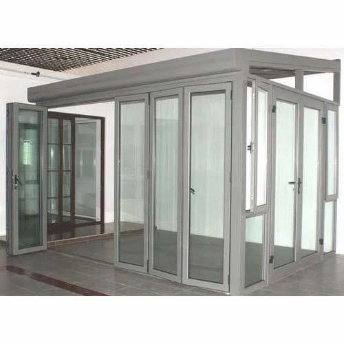 Aluminium Glazed Door  sc 1 st  IndiaMART & Aluminium Glazed Door Aluminium Doors - Him Steel Industries ...
