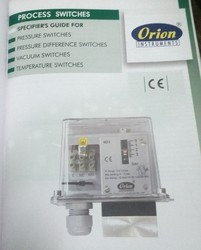 Gas Orion Process Preassure Switches