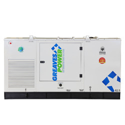 62.5 kVA Greaves Power Sound Proof Generator, 3 Phase