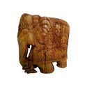 Sandalwood Lucky Elephant
