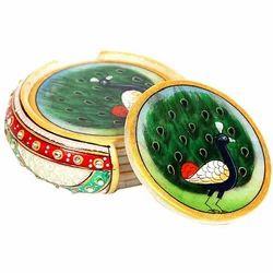 Marble Four Tea Coaster Set Mb102