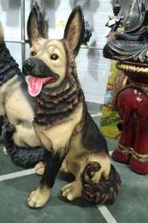 Multi Fiber Animal Statue
